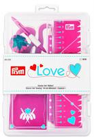 Prym Love -ompelutarvikepakkaus, pinkki