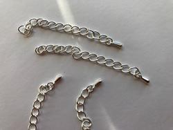 Beadalon Säätöketju/pidennysketju hopeoitu 7 cm (10 kpl/pss)