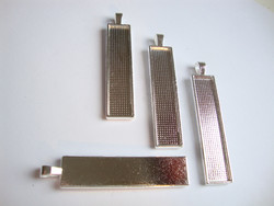 Riipus / kuvakehys hopeoitu 58 x 12 mm