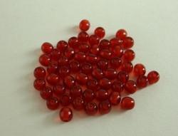 Siemenhelmi rubiininpunainen kirkas 3,5 mm (20 g/pss)