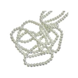 Helmiäislasihelmi valkoinen 6 mm (50 kpl/pss)