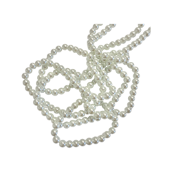 Helmiäislasihelmi valkoinen 10 mm (20 kpl)