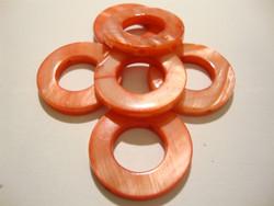 Simpukkahelmi punainen donitsi 20 mm (10/pss)