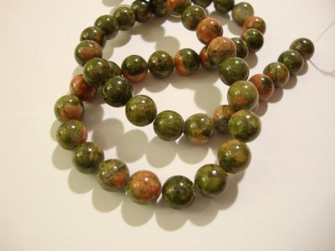 Unakiitti vihreä/punainen pyöreä 4 mm (40 kpl/pss)