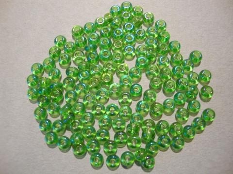 Siemenhelmi limen vihreä AB 8/0 3 mm (20 g = n. 1200 kpl)