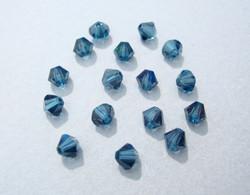 Swarovski kristallihelmi Montanan sininen bicone 4 mm (5/pss)