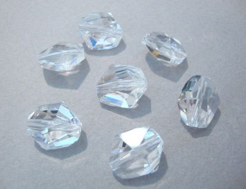 Swarovski kristallihelmi kirkas Cosmic 12 mm (2/pss)