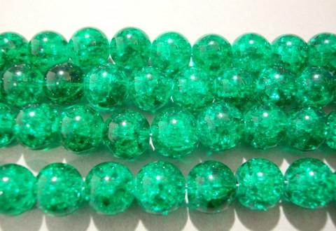 Särölasihelmi vihreä pyöreä 8 mm (30/pss)