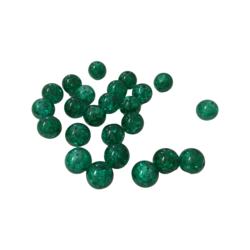 Särölasihelmi vihreä pyöreä 10 mm (20/pss)