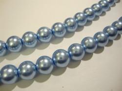 Helmiäislasihelmi vaalea sininen (Baby Blue) 10 mm (n.20/nauha)