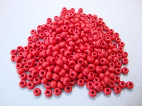 Siemenhelmi punainen opaakki 8/0 3 mm (20 g/pss