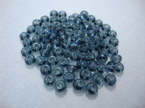 Siemenhelmi harmaa kirkas 5/0 4,5 mm (20 g/pss)