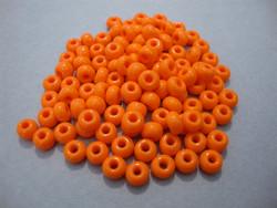 Siemenhelmi oranssi opaakki 5/0 4,5 mm (20 g/pss)