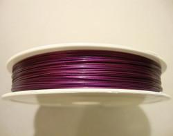 Koruvaijeri 3-säikeinen tumma violetti 0,45 mm (5 m/pss)