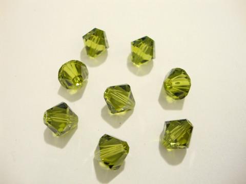 Swarovski kristallihelmi oliivin vihreä 8 mm (4/pss)
