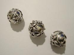 Bali 925 hopeahelmi Lehtiköynnös 9,2 mm