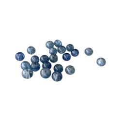 Särölasihelmi farkun sininen pyöreä 6 mm (30 kpl/pss)