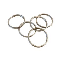 Tuplarengas/avainrengas 25 mm teräksen värinen (20 kpl)