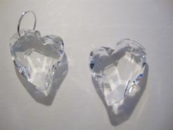 Swarovski kristalli Devoted 2 U -sydänriipus kirkas 17 mm