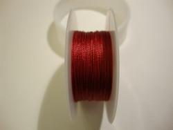 Silkon-nylonhelmilanka #03 punainen (m-erä 1 m)