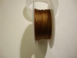 Silkon-nylonhelmilanka #03 vaalea ruskea / kulta (m-erä 1 m)
