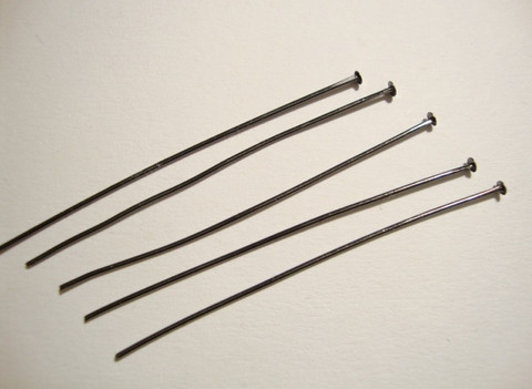 Korupiikki musta pehmeä 50 x 0,7 mm, tasapäinen (50 kpl/pss)