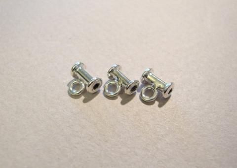 Riipuspidike ripustuslenkillä 925 hopea 7 x 4 mm