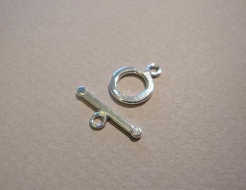 Salpalukko siro 925 hopea 9 mm