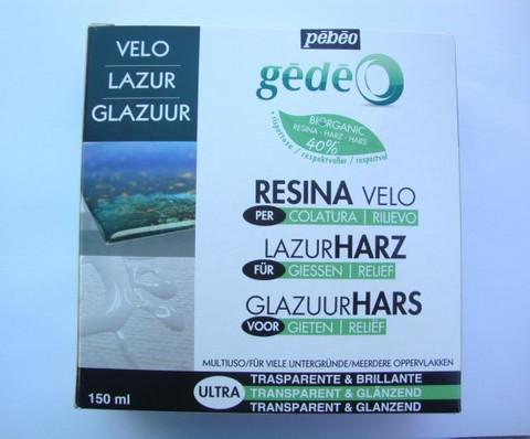 Pebeo Glazing resin -BIOkoruhartsi/epoksihartsi 300 ml