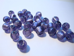 Folio lasihelmi violetti pyöreä 8 mm (10 kpl/pss)