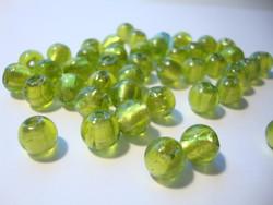 Folio lasihelmi vihreä pyöreä 8 mm (10 kpl/pss)