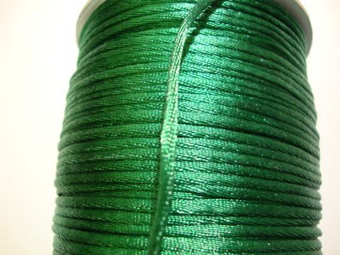 Satiininauha smaragdinvihreä 1,5 mm (m-erä 2 m)