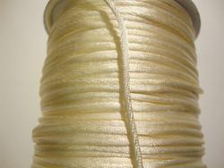 Satiininauha luonnonvalkoinen 2 mm (m-erä 2 m)