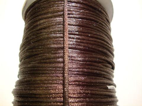 Satiininauha tummanruskea 1,5 mm (m-erä 2 m)