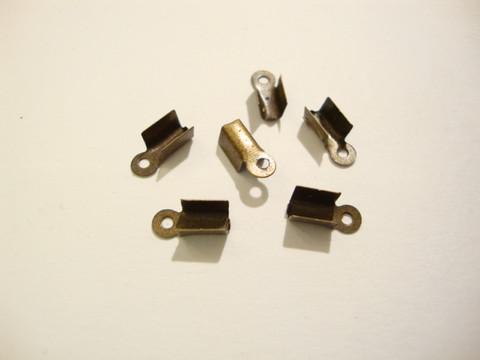 Nauhanpää pronssinvärinen 8 x 4 mm liimattava (10 kpl/pss)