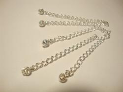 Beadalon säätöketju/pidennysketju hopeitu n. 7 cm  (10 kpl/pss)