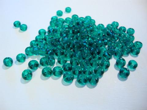 Siemenhelmi vihreä (Teal) 5/0 4,5 mm (20 g/pss)