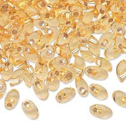 Miyuki siemenhelmi kirkas kulta pitkä Magatama 7x4 mm LMA3 (10 g/pss)