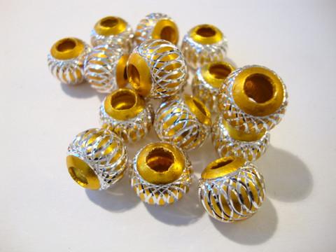 Alumiinihelmi kulta 12 mm
