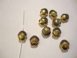 TierraCast Metallihelmi Simpukka kullattu 10 mm (2/pss)