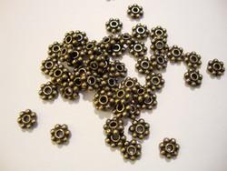 TierraCast Välihelmi litteä pallorondelli pronssi 5 mm (20/pss)