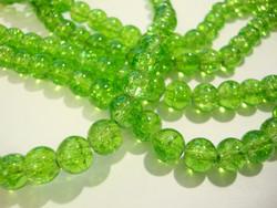 Särölasihelmi limen vihreä pyöreä 8 mm (30/pss)