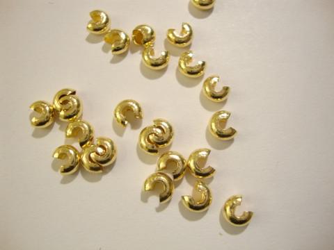 Kullattu suojahelmi/päällyshelmi 4 mm kiinnityshelmelle (25 kpl/pss)