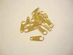 Lukon vastakappale 10 x 4 mm kullattu (10 kpl/pss)
