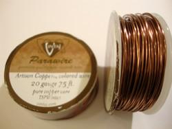 Vintaj Artisan Copper metallilanka, paksuus 20 Gauge=0,81 mm (m-erä 1 m)