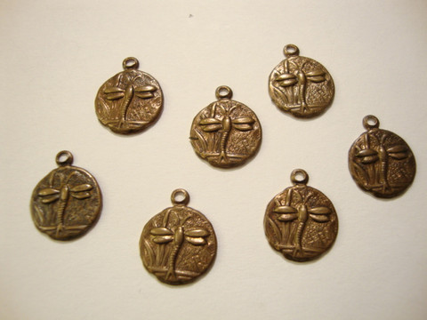 Vintaj Sudenkorento riipus pyöreä 9,5 mm (2 kpl/pss)