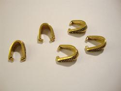 TierraCast Puristettava riipuspidike Royal kullattu 10 x 4,8 mm