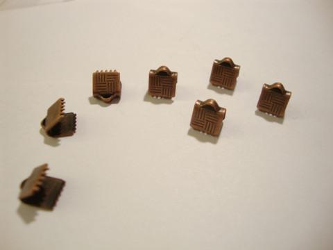 Nauhanpää kupari, leveys 7 mm (10 kpl/pss)