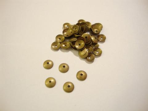 Helmihattu sileä pronssi 4 mm (30 kpl/pss)