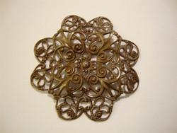 Vintaj Gerberan kukka filigraani 40 mm